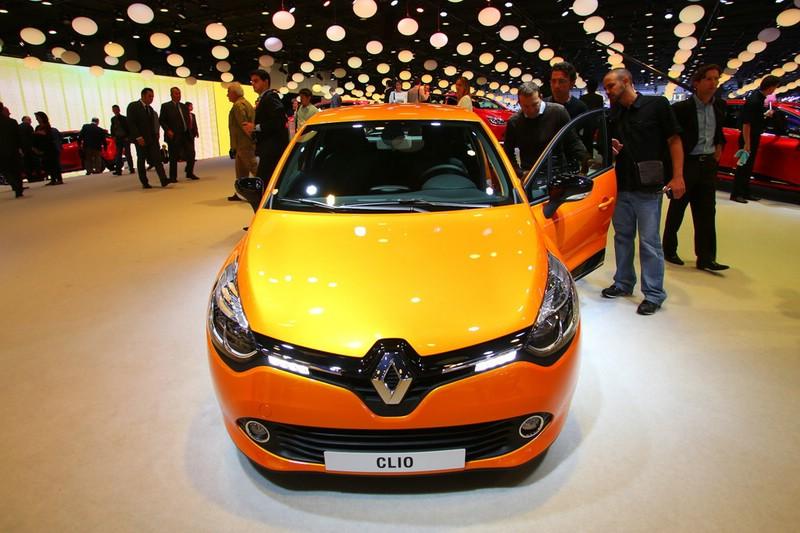 Renault Clio 2013 auf der Paris Motor Show 2012
