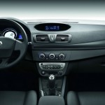 Das Interieur des Renault Megane-Sondermodells Je taime