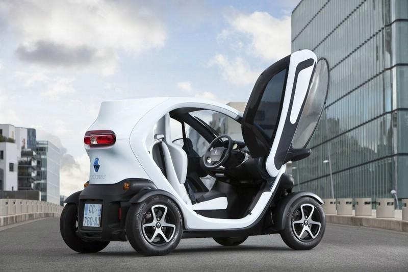 Der neue Twizy von Renault optional mit Seitenscheiben