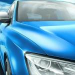 Die Scheinwerfer des Audi SQ5 TDI Exclusive Concept