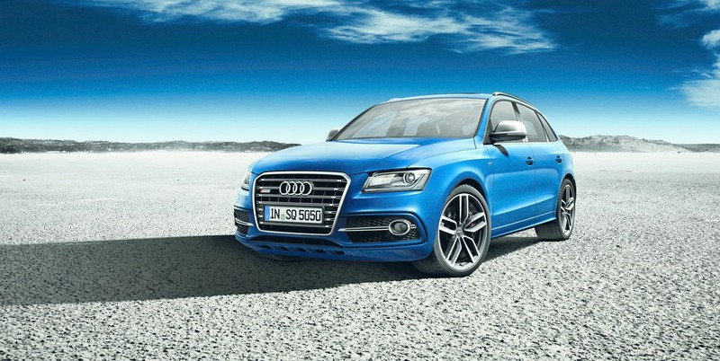 Audi SQ5 TDI Exclusive Concept in Arablau Kristalleffekt