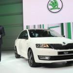 Skoda Rapid auf der Paris Motor Show 2012