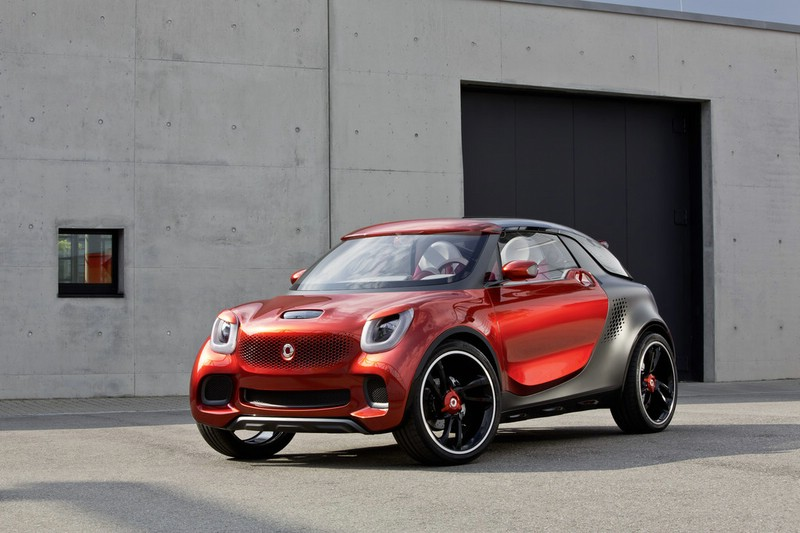 Smart Forstars Concept in der Lackfarbe Alubeam rouge