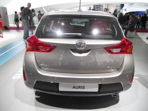 Der neue Toyota Auris 2013 in der Heckansicht
