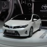 Toyota Auris Touring Sports auf dem Pariser Autosalon 2012