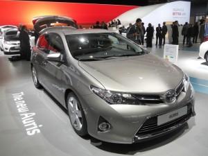Neuer Toyota Auris auf der Paris Motor Show 2012