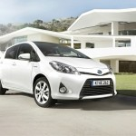 Toyota Yaris mit Hybridantrieb