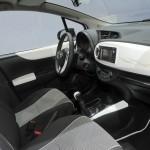Das Interieur des Toyota Yaris Trend