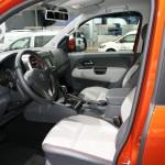 Die Fahrerseite des Volkswagen Amarok Canyon