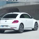 VW Beetle Sport R-Line in der Heckansicht
