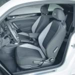 Das Interieur des VW Beetle R-Line