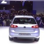Volkswagen Golf 7 in der Heckansicht