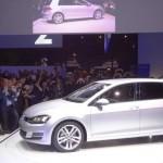 Die Seitenpartie des Volkswagen Golf 7