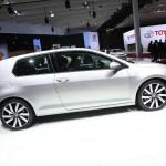 Volkswagen Golf 7 auf dem Pariser Autosalon 2012