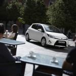 Neuer Toyota Yaris Hybrid (Standaufnahme)