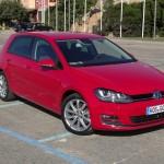 Die 7. Generation des Volkswagen Golf in der Frontansicht