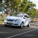 Opel Corsa 1.3 CDTI Ecoflex 2012 in der Frontansicht