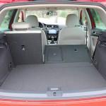 Der Kofferraum des neuen VW Golf Modelljahr 2013