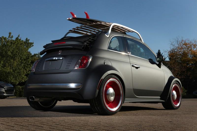 Tuning: Fiat 500 Beach Cruiser auf der SEMA 2012