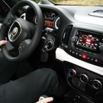 Cockpit, Mittelkonsole des Fiat 500L