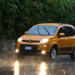 Die Frontpartie des Fiat Panda Trekking