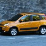 Der neue Fiat Panda Trekking (2012) in der Seitenansicht