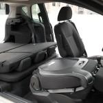Umgeklappte Sitze im neuen Ford B-Max