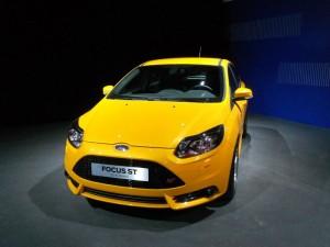 Der Kühlergrill des Ford Fiesta ST 2013