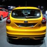 Der neue Ford Fiesta ST in der Heckansicht