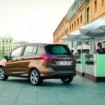 Der neue Ford B-Max präsentiert sich von hinten