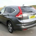 Die Heckansicht des Honda CR-V 2.2 i-DTEC 4 WD