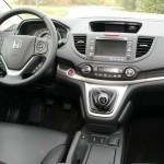 Das Interieur des Honda CR-V 2.2 i-DTEC 4 WD