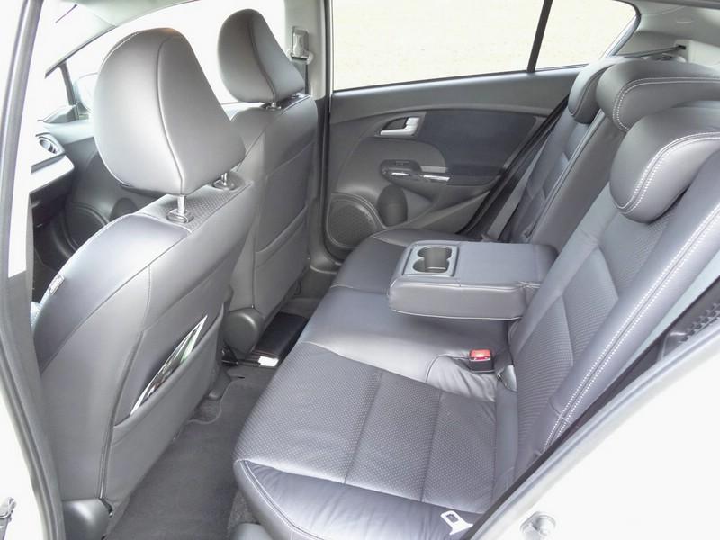 Die Ledersitze des Honda Insight Exclusive