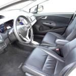 Der Innenraum des Honda Insight Exclusive - Lederausstattung