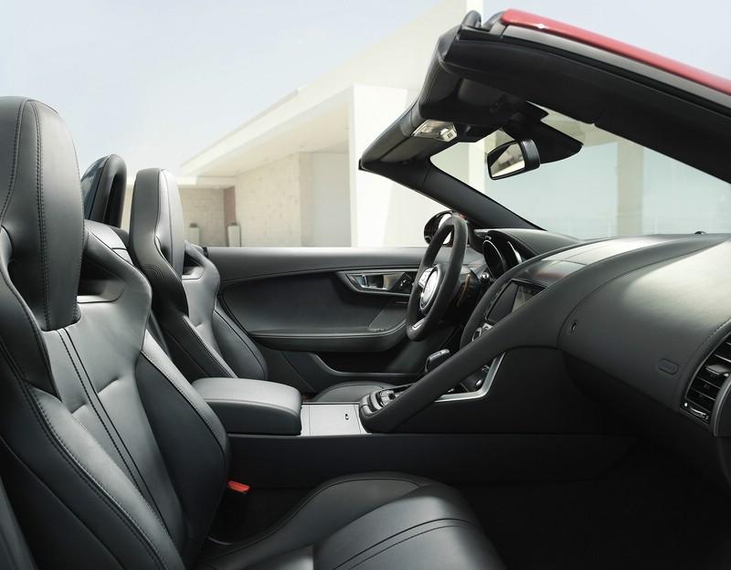 Das Interieur des Jaguar F-Type - Sitze