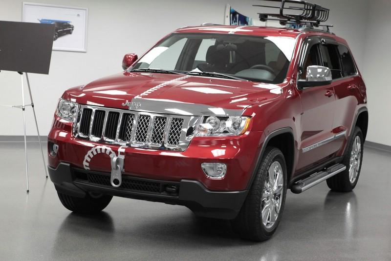 Tuning: Jeep Grand Cherokee Half&Half auf der SEMA 2012