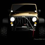 Jeep Wrangler als Sand Trooper auf der SEMA 2012