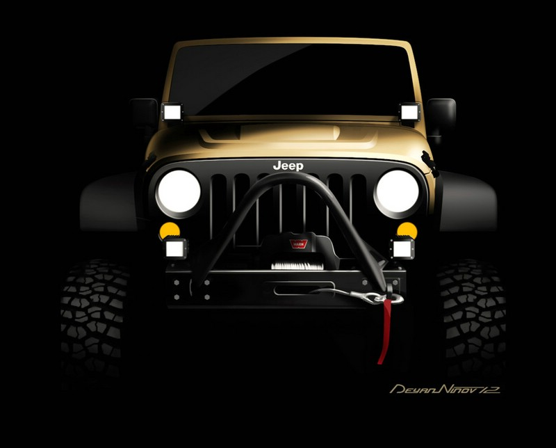 Jeep Wrangler als Sand Trooper auf der SEMA 2012