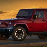 Jeep Wrangler Black Edition 2013 in Rot