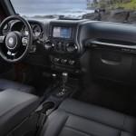 Das Interieur des Jeep Wrangler Black Edition