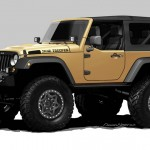 Tuning: Jeep Wrangler Sand Trooper auf der SEMA 2012 in New York