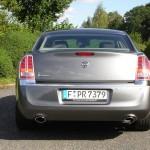 Bulliger Lancia Thema präsentiert sich von hinten