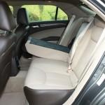 Lederausstattung im Lancia Thema 3.0 V6 CRD (Fond)