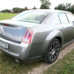 Das Heck des Lancia Thema 3.0 CRD Executive