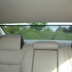 Das Sonnenschutzrollo im Lancia Thema 3.0 V6 CRD