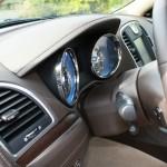 Der Tachometer des Lancia Thema 3.0 V6 CRD