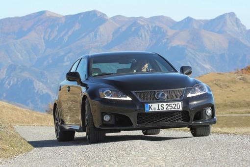 Der neue Lexus IS F Modelljahr 2013