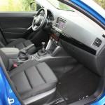 Die Ledersitze des Mazda CX-5 2.0 SKYACTIV-G AWD