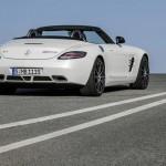 Weißer Mercedes-Benz SLS AMG GT 2012