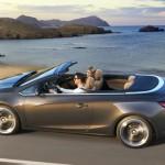 Das Opel Cascada Cabriolet in der Seitenansicht